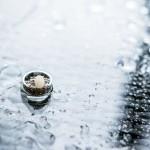 Esküvői, beállított, kreatív fotózás - Badacsony, Balaton